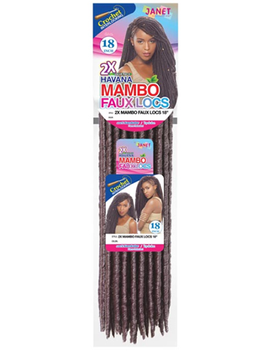 JANET HAVANA MAMBO FAUX LOCS | Beauty & Beyond | Interlocking Hair Style
