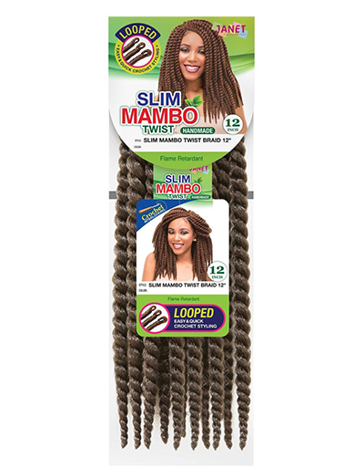 JANET SLIM MAMBO TWIST BRAID 12"