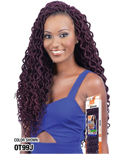 MODEL MODEL 2X SOFT CURLY FAUX LOC | Beauty & Beyond | Hand made Hair