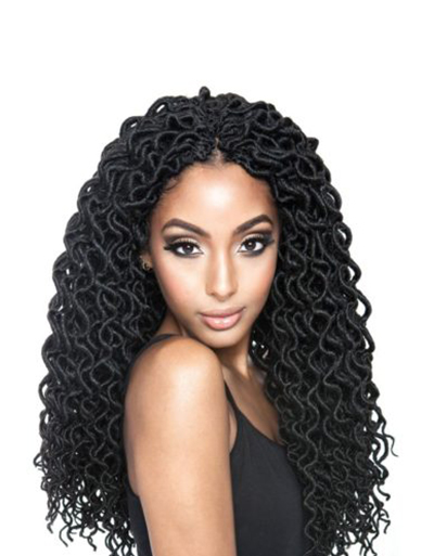 AFRI-NAPTURAL CURLED FAUX LOCS 18″ | Beauty & Beyond | Fashionable