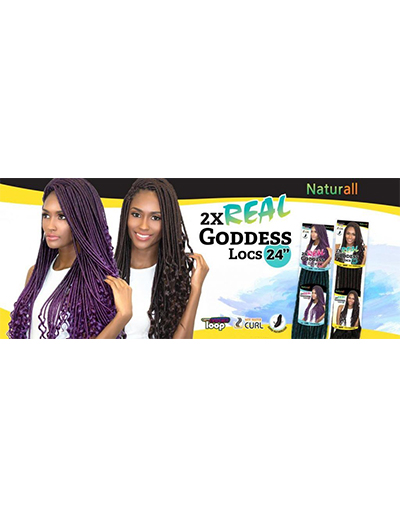 GODDESS LOCS 24″ Wave | Beauty & Beyond | Hand Made Braiding Hair