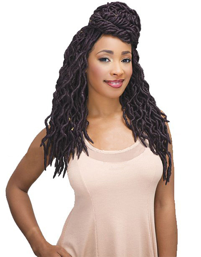 Janet Collection 2X Wave Faux Locs 14"
