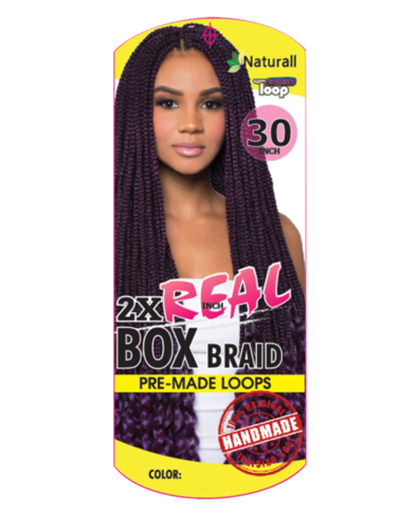 URBAN BEAUTY 2X REAL BOX BRAID 30"