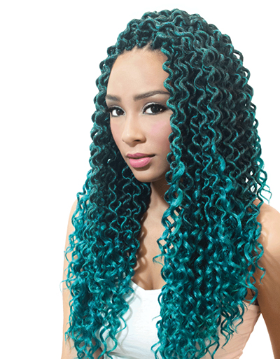 Urban Beauty Crochet Loop Goddess Curl Locs 18″ | Beauty & Beyond | Hair Styling
